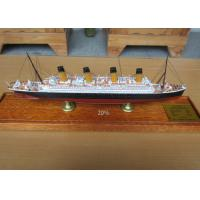 China High Simulation Cruise Ship Toy Models R.M.S. Olympic  Cruise Ship Shaped on sale