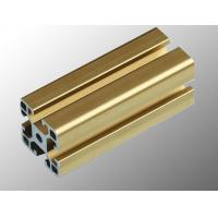 Quality Anodized  Industrial Aluminium Profile For Production Line , T Slot Aluminum Profile for sale