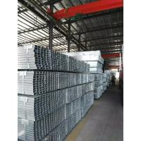 Quality MS Q345 Square Section Steel Tube With Galvanized / Zinc Coated , 40 * 40 Mm for sale