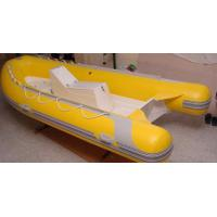 Quality 0.9mm PVC Tarpaulin Durable Rigid Hull Inflatable boat for sale for sale