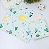 Quality MW 012 Baby Muslin Face Washcloths 100 Cotton 6 Layer Super Soft Water Absorption for sale