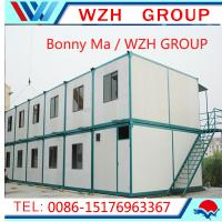 Quality prefab living house / 20 ft container house made in China for sale