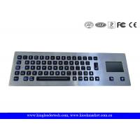 Quality Dust-Proof Illuminated Metal Keyboard Silver With 65 LED Individually-Lit Keys for sale