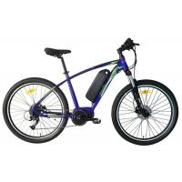 Quality 10.4AH Electric Assist Mountain Bike Foreged Stem Mechanical Disc Brakes for sale