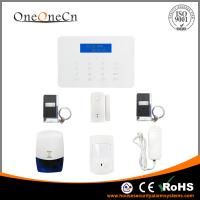 China Auto Dial Intelligent GSM Security Alarm System Two Way Intercom For Home on sale