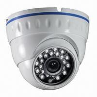 Quality 2.5-inch CCTV Weatherproof IR Dome Camera with 420 to 700TVL Resolution and IP66 Water Resistence for sale