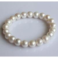 Quality Stretched Freshwater Pearl Bracelet (EB1550-1) for sale