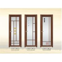 Quality Double Tempered Aluminum Glass Door for sale