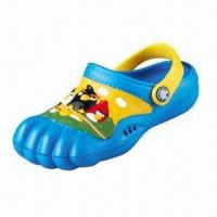 Buy cheap Children's Clogs, Upper and Outsole made of EVA, Various Colors are Available from wholesalers