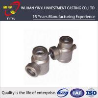 Quality Durable 316 / 304 Stainless Steel Pipe Fittings Lost Wax Investment Casting Process for sale