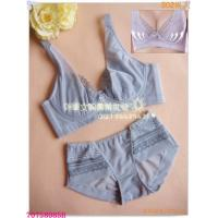 Buy cheap Fashionable New Style OEM Breathable Embroidered Matching Bra And Underwear Sets For Women from Wholesalers