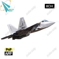 Quality F-22 Raptor 12CH Electric EPS Material RC Airplane EDF jet for sale