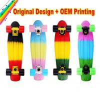 Quality OEM logo printed colorful skateboard for New Year for sale
