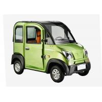 Quality Disc Brake Steering Wheel Economic Electric Cars , 1200W 3 Seats Small Electric Cars for sale