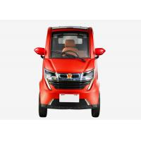 Quality Family 1200W 3 Seats Electric Vehicle Car , Disc Brake 50Ah Battery Lightweight Electric Car for sale
