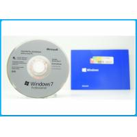 Quality Oem Full Version 32bit / 64bit Microsoft Windows 7 Pro Retail Box With Genuine License for sale