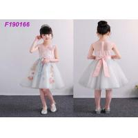 Quality Unique Boutique Childrens Flower Girl Dresses For 100-110cm 2 Years Kids Anti Static for sale
