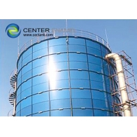 Quality Glass Fused To Steel Porcelain Enameled Storage Tanks For Agricultural Water Storage for sale
