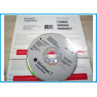 Quality Win­ 7 Pro 32 Bit / 64 Bit OEM Key - MS Windows 7 Professional Polish OEM Pack for sale