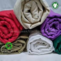 Quality Manufactary 100% GOTS certifide OrganicCottonTwillSolid Fabric for quilts 30NE*30NE for sale
