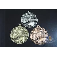 Two 3D Stars Custom Funny Football Engraved Sports Medals