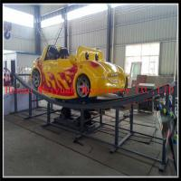 Quality Attractive hot amusement park mini car kids flying car for sale for sale