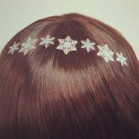 Buy cheap Winter Style Beautiful Hair Dress New Fashion Hair Tattoo from wholesalers