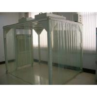 China Portable Softwall Modular Clean Room / Class 100 Clean Booth Class 1000 Purification on sale