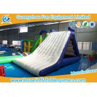 China Fun Summer Jumping Inflatable Water Park Backyard Water Slides For Adults on sale