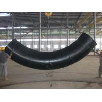 Quality 90 Degree Welded Induction Carbon Steel / Stainless Steel Tube Bending Round Shape for sale