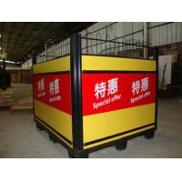 Quality Knockdown Metallic Supermarket Promotion Display Table / Advertising Promotion Counter for sale