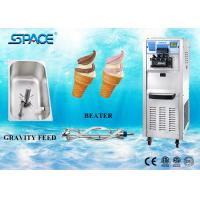 Commercial Soft Serve Stainless Steel Ice Cream Maker Floor Standing 40Liters/hour