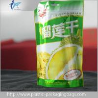 China Stand Up Zipper Plastic Resealable Bag With Euro Hole For Candy Packaging on sale