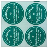 Quality Product round paper label sticker made in guangzhou , Custom print labels for sale