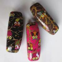 Quality Hot selling printed glasses cases-Owl design printed for sale