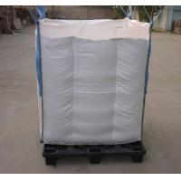 Quality Net Baffle Formed big bag Q Bags for soybean / corn packing for sale