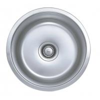 Quality Custom Round Single Bowel 18 Gauge Stainless Steel Sink For Kitchen for sale