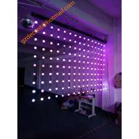 China Stage Lighting DJ Lighting Bluetooth Control  LED Beads  LED String Lights Curtain on sale