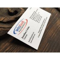 Eco Friendly Premium Business Cards 89 51mm With Varnishing Raised