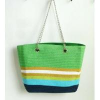 Quality Fashionable grass straw beach tote bag for sale