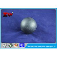 Quality Tecnology casting Forged Steel Grinding Balls for Mining and Cement Plant use for sale