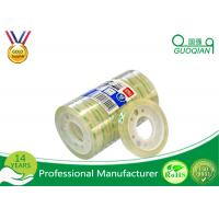 Quality Clear Bopp Stationery Tape For Office Paper Sealing 5-100m Length for sale