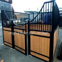 Powder Coating Finish Horse Stall Fronts Metal Horse Stall Gates High Durability