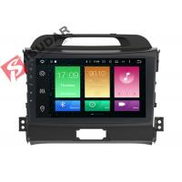 Buy Full RCA Output Kia Sportage Sat Nav System 1 Din Bluetooth Car Radio Heat Dissipation at wholesale prices