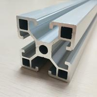 Quality Fine Metal Anodize Aluminum Spare Parts T Slot Extruded Frame Profile for sale