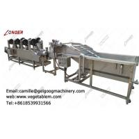 Quality High efficient commercial fruit and vegetable washing and drying machine line for sale