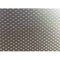 China Thick Black Privacy Window Screen Mesh , Diamond Aluminum Mesh Privacy Screen on sale