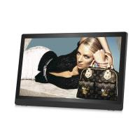 Quality Ultrathin HD IPS 27inch LCD Digital Photo Frame Plastic Case Video Loop Play for sale