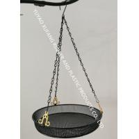 Quality Multi-function bird feeder, Metal round tray hanging bird feeder for garden for sale