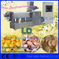 Quality CE certified automatic Twin Screw Extruder for snacks food for sale